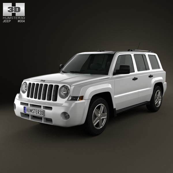 Jeep Patriot 2011 3d car model