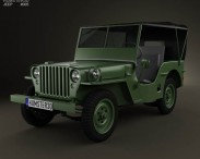 3D model of Willys MB 1941