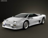 3D model of Lamborghini Diablo VT 1993