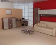 3D model of Living Room Furniture 10 Set