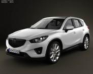 3D model of Mazda CX-5 2012