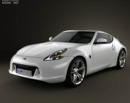 3D model of Nissan 370Z Coupe 2009
