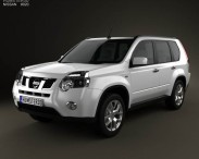 3D model of Nissan X-Trail 2011