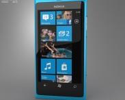 3D model of Nokia Lumia 800