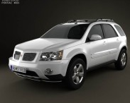 3D model of Pontiac Torrent 2006