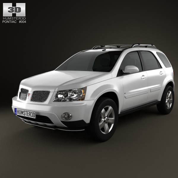 Pontiac Torrent 2006 3d car model