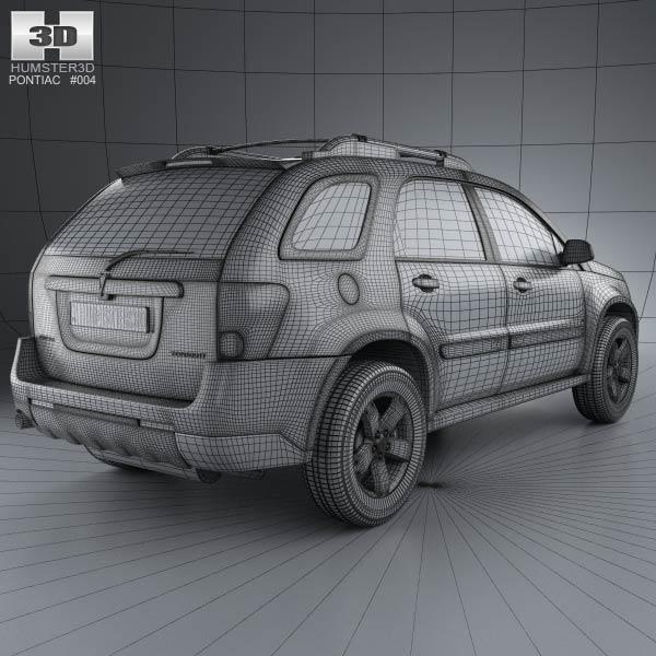 Pontiac torrent 2006 3d model humster3d for 3d models torrent