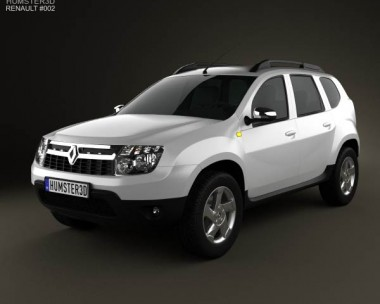 3D model of Renault Duster 2011