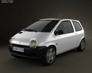 3D model of Renault Twingo 1992