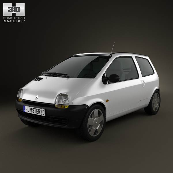 Renault Twingo 1992 3d car model