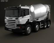 3D model of Scania P Mixer 2011