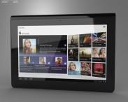 3D model of Sony Tablet S
