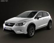 3D model of Subaru XV 2012