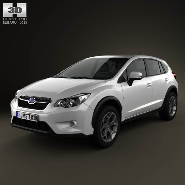Subaru XV 2012 3d car model