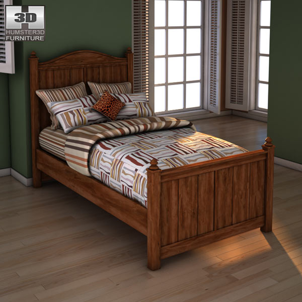 Ashley Camp Huntington Poster Bed 3d model