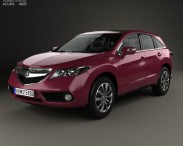 3D model of Acura RDX 2013