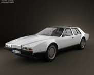 3D model of Aston Martin Lagonda 1985