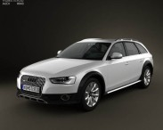 3D model of Audi A4 Allroad 2013
