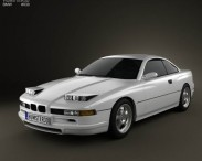 3D model of BMW 8 Series (E31)