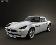 3D model of BMW Z8 (E52)