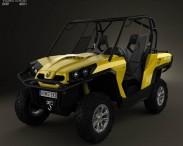 3D model of BRP Can-Am Commander XT 2012