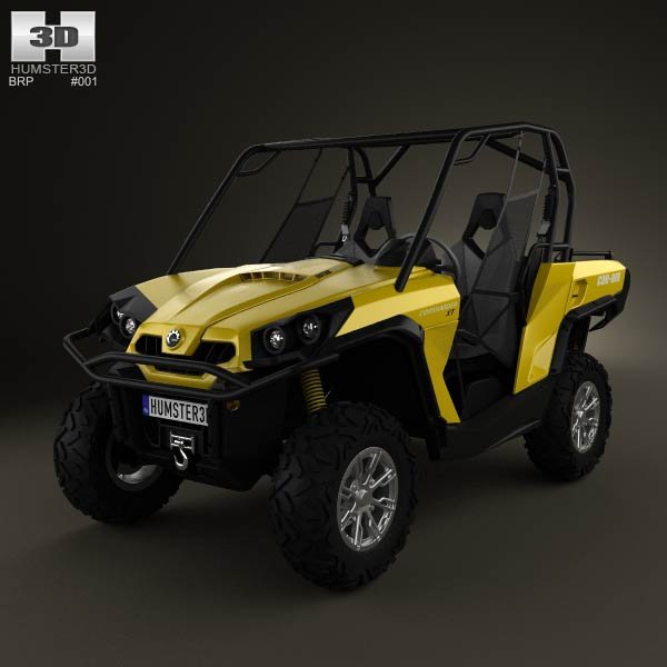 BRP Can-Am Commander XT 2012 3d car model