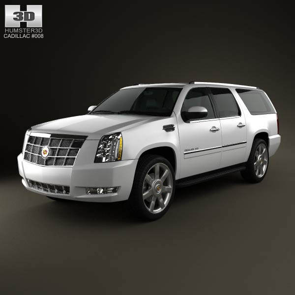 Cadillac Escalade ESV 2011 3d car model