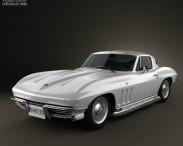 3D model of Chevrolet Corvette Sting Ray (C2) 1965