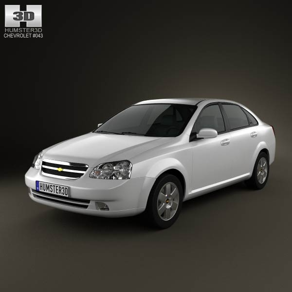 Chevrolet Lacetti Sedan 2011 3d car model