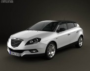 3D model of Chrysler Delta 2012