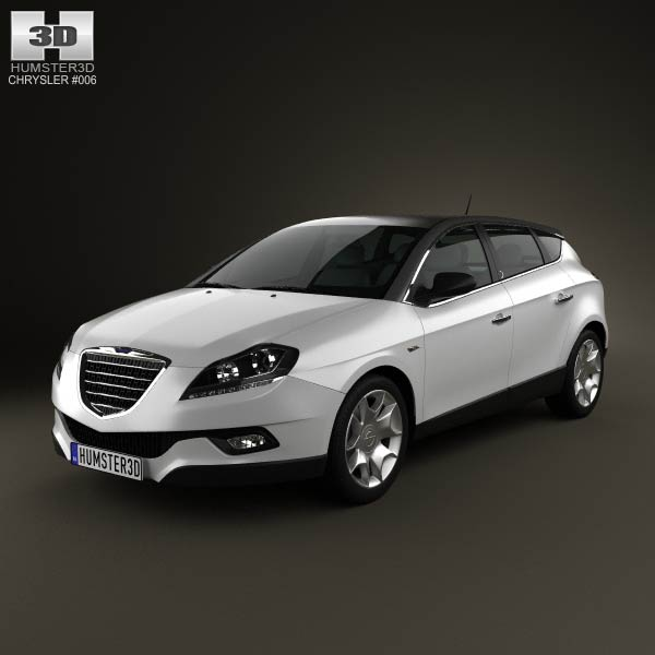 Chrysler Delta 2012 3d car model