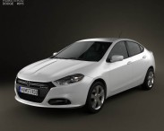 3D model of Dodge Dart 2013