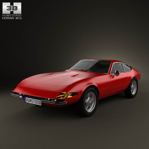 Ferrari 365 Daytona GTB/4 1968-1973 3d car model