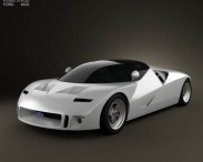 3D model of Ford GT90 1995
