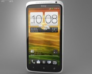 3D model of HTC One X