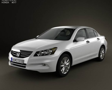 3D model of Honda Accord Sedan 2012