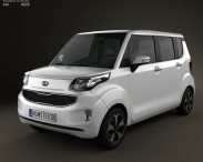 3D model of Kia Ray 2012
