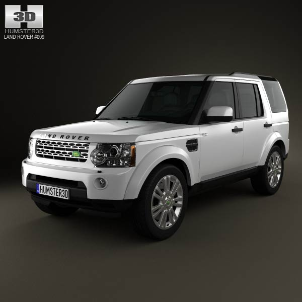 Land Rover Discovery 4 (LR4) 2012 3d car model