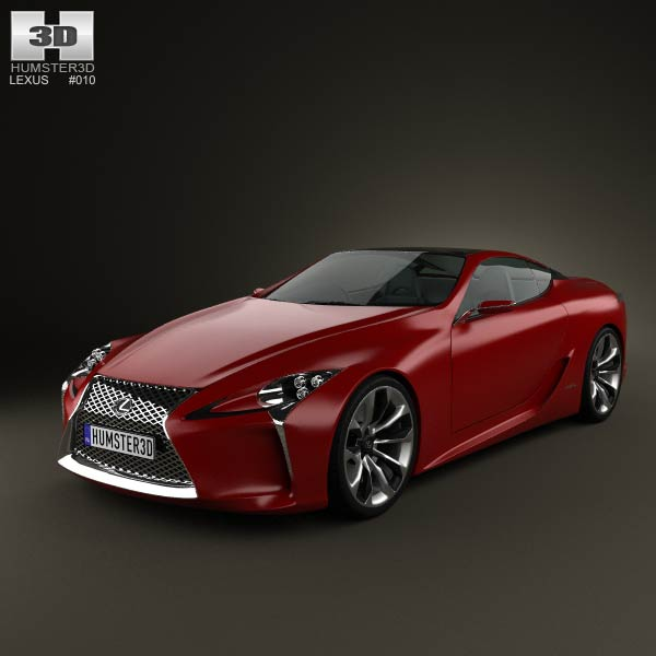 Lexus LF-LC 2012 3d car model