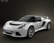 3D model of Lotus Exige S 2012