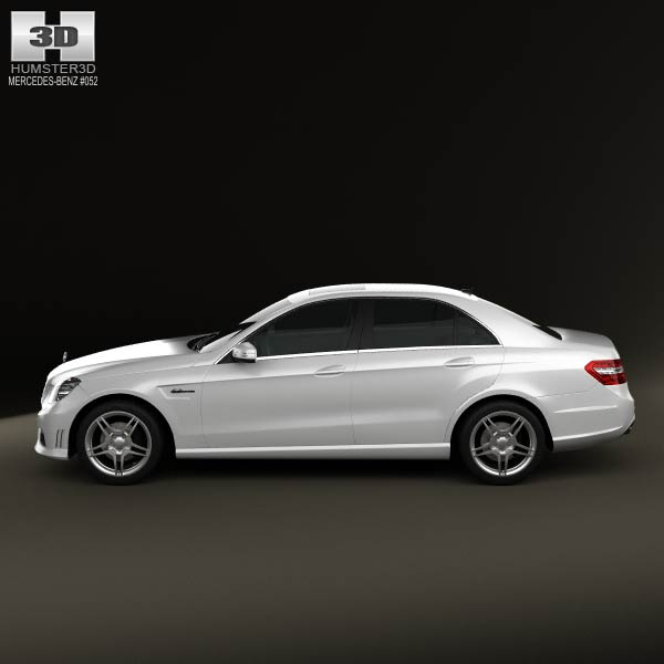 Mercedes benz e63 amg w212 sedan 2010 3d model humster3d for Mercedes benz different models