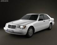 3D model of Mercedes-Benz S-class (W140) 1999