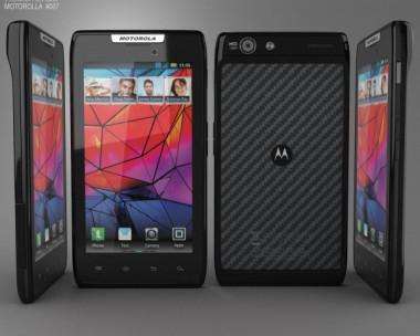 3D model of Motorola RAZR