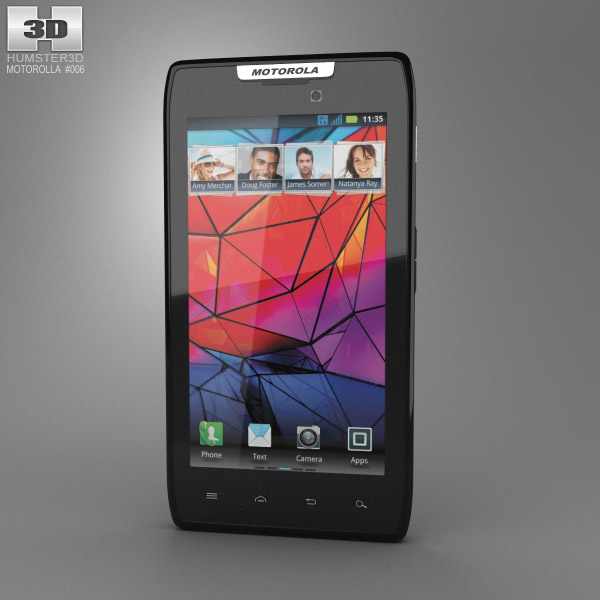 Motorola RAZR MAXX 3d model