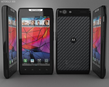 3D model of Motorola RAZR MAXX