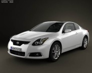 3D model of Nissan Altima coupe 2012