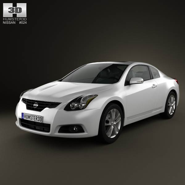 Nissan Altima coupe 2012 3d car model