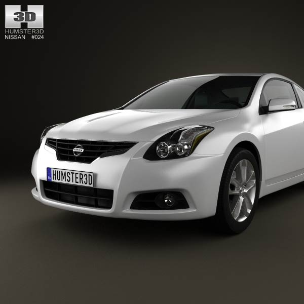 nissan altima coupe 2012 3d model humster3d. Black Bedroom Furniture Sets. Home Design Ideas