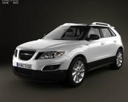 3D model of Saab 9-4X 2012