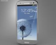 3D model of Samsung Galaxy S III